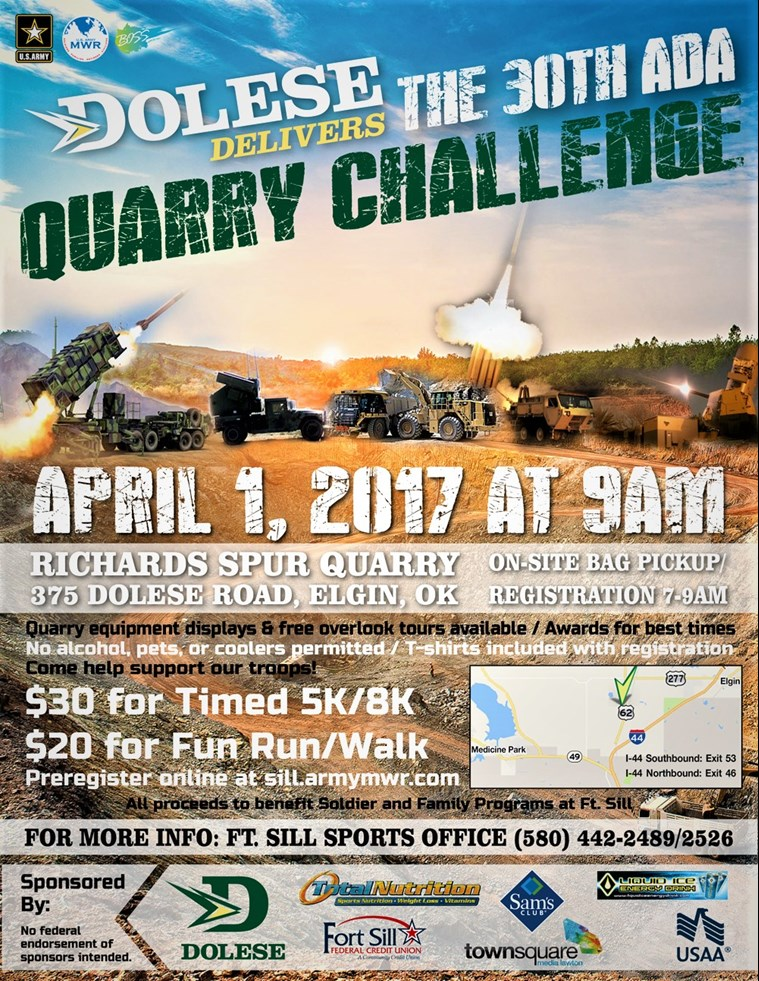 Dolese Delivers the 30th ADA Quarry Challenge 5K/8K and Fun Run/Walk